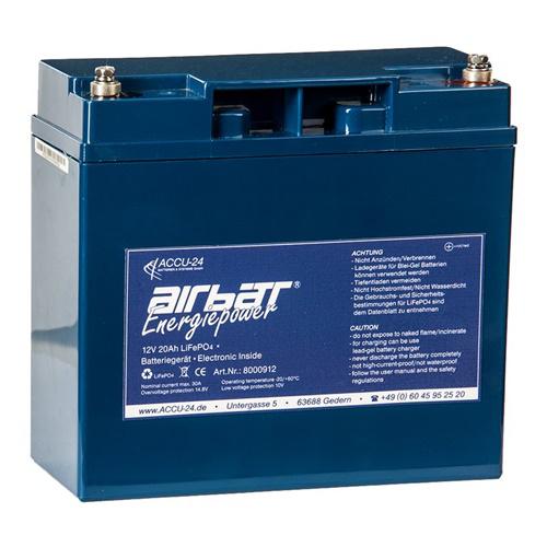 Airbatt Energiepower LiFePO4 12V 20Ah