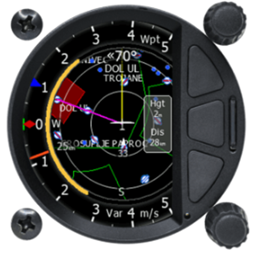 S10 standalone Digital Variometer 57 mm mit IGC Logger