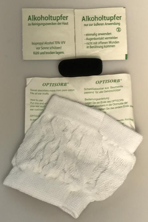 Hygiene-Set für Headset