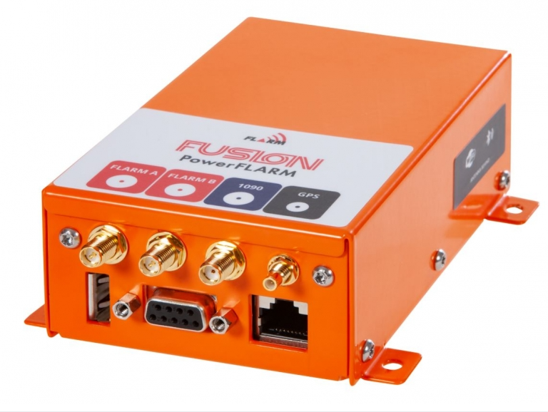 PowerFLARM Fusion - Kollisionswarnsystem für Segelflieger