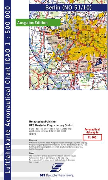 ICAO-Karte Berlin 2021