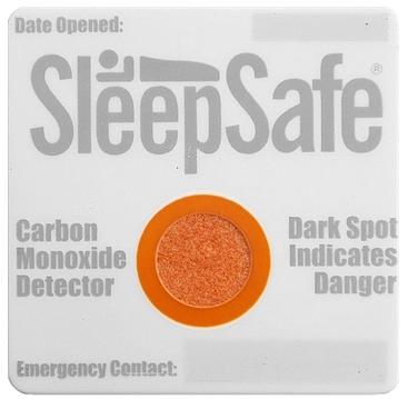 Kohlenmonoxid-Detektor mit Klettband