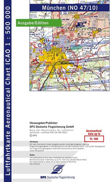 ICAO-Karte München 2021