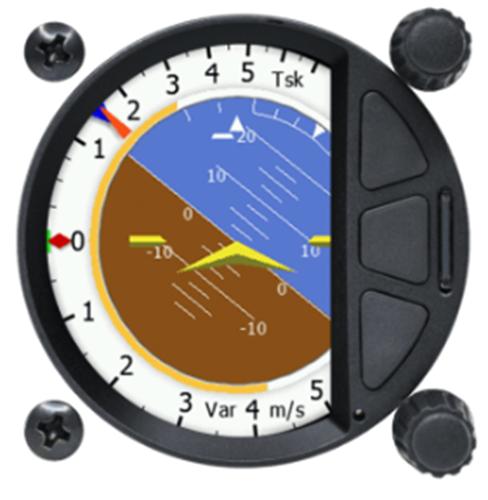 S8 standalone Digital Variometer 57 mm