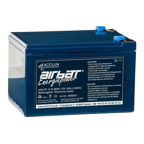 Airbatt Energiepower LiFePO4 12V 15Ah