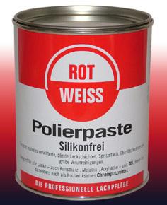 Rot Weiss Polierpaste