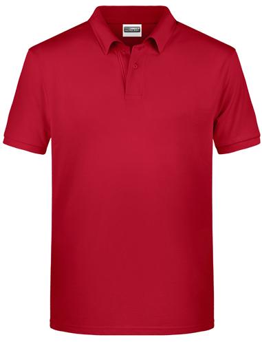 Männer Polo-Shirt aus Bio-Baumwolle-Schwarz-3XL