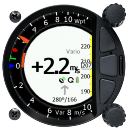 S80 standalone Digital Variometer 80 mm
